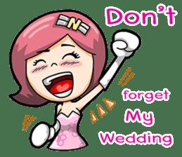 Wedding Couple sticker #10538957