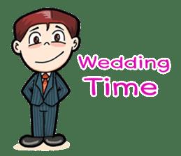 Wedding Couple sticker #10538962