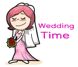 Wedding Couple sticker #10538963