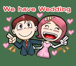 Wedding Couple sticker #10538980