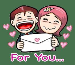 Wedding Couple sticker #10538982