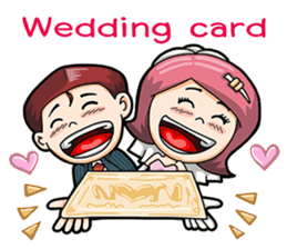 Wedding Couple sticker #10538983
