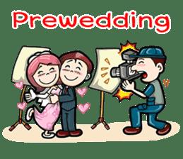 Wedding Couple sticker #10538984