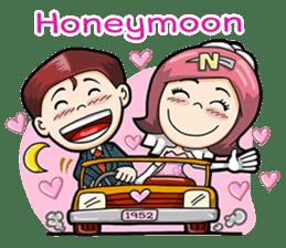 Wedding Couple sticker #10538989