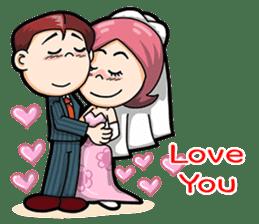 Wedding Couple sticker #10538991