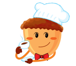 Donguri Chef Master sticker #10547595