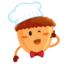 Donguri Chef Master sticker #10547610