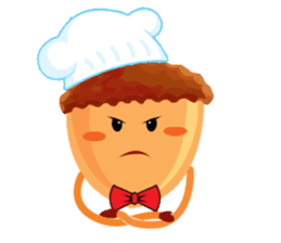 Donguri Chef Master sticker #10547616