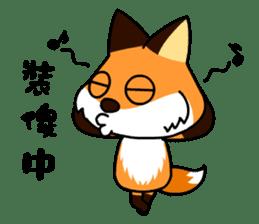 Tangerine fox sticker #10565889