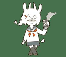 Goat Girl Stickers - English sticker #10568406