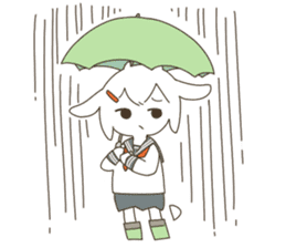 Goat Girl Stickers - English sticker #10568409