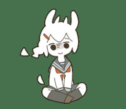 Goat Girl Stickers - English sticker #10568419