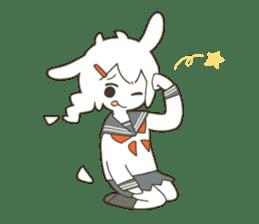 Goat Girl Stickers - English sticker #10568422