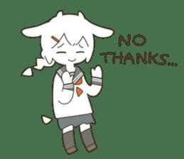 Goat Girl Stickers - English sticker #10568426