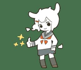 Goat Girl Stickers - English sticker #10568428