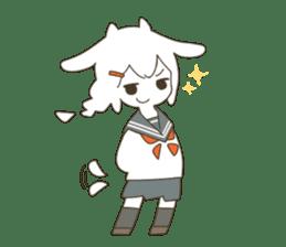 Goat Girl Stickers - English sticker #10568430