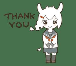 Goat Girl Stickers - English sticker #10568431