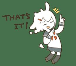 Goat Girl Stickers - English sticker #10568434