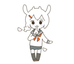 Goat Girl Stickers - English sticker #10568436
