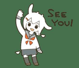 Goat Girl Stickers - English sticker #10568438