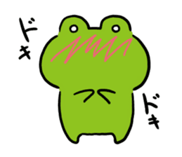Cute frog kankan ver. sticker #10580508