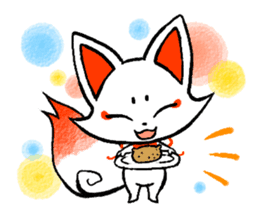 Kyoto Inari fox 2(Not language ver.) sticker #10581326