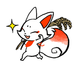 Kyoto Inari fox 2(Not language ver.) sticker #10581336