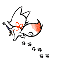 Kyoto Inari fox 2(Not language ver.) sticker #10581349