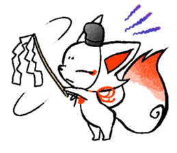 Kyoto Inari fox 2(Not language ver.) sticker #10581352