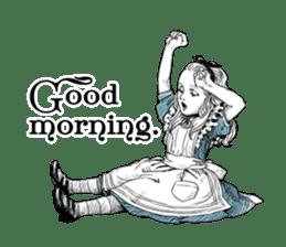 Alice in Sticker land sticker #10581480