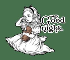 Alice in Sticker land sticker #10581481