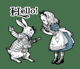 Alice in Sticker land sticker #10581482