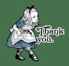Alice in Sticker land sticker #10581483
