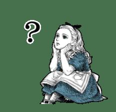 Alice in Sticker land sticker #10581488
