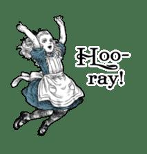 Alice in Sticker land sticker #10581490