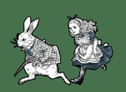 Alice in Sticker land sticker #10581491