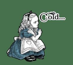 Alice in Sticker land sticker #10581493