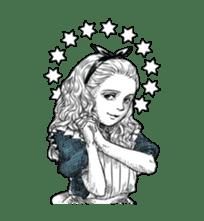 Alice in Sticker land sticker #10581505