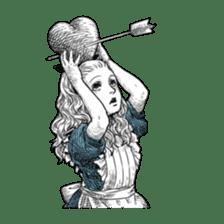 Alice in Sticker land sticker #10581507