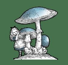 Alice in Sticker land sticker #10581508