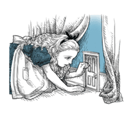Alice in Sticker land sticker #10581509