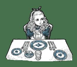 Alice in Sticker land sticker #10581511