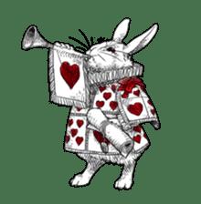 Alice in Sticker land sticker #10581514