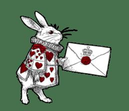 Alice in Sticker land sticker #10581515