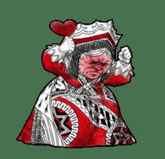Alice in Sticker land sticker #10581516