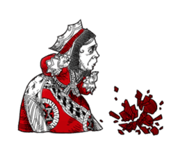 Alice in Sticker land sticker #10581518