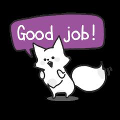 Snow fox (English)