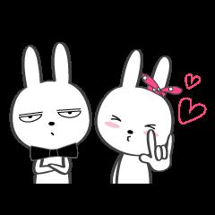 Bunny boy and girl