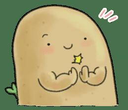 Chubby potato sticker #10587360