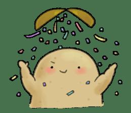 Chubby potato sticker #10587362